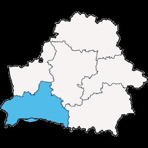 Mapy województwa Brzeskiego
