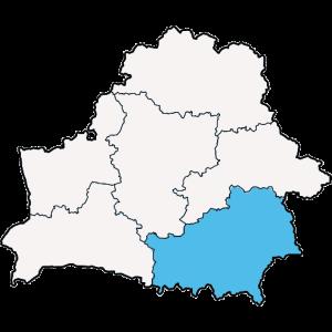 Mapy województwa Gomelskiego