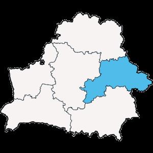 Mapy województwa Mogilewskiego