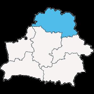 Mapy województwa Witebskiego