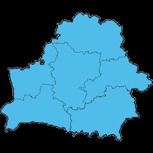 Mapy całej Białorusi